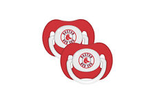 Boston Red Sox Baby Pacifier Set of 2 - Officially Licensed MLB BPA Free