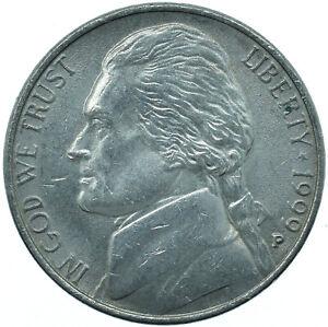 1999P UNITED STATES / 5 CENT / THOMAS JEFFERSON MONTICELLO   #WT25638