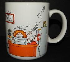 Hallmark How to Get Along at the Office Coffee Tea Cup Mug 1984 I Just Love Here