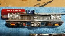 1:18 1968 SS 396 Chevelle Front Bumper Assembly Chrome Good Chevy Parts