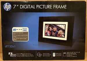 "HP 7"" Inch Digital Picture Photo Frame DF730V1"
