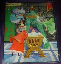 WALT DISNEY'S  SLEEPING BEAUTY  FRAME TRAY PUZZLE  WHITMAN  1958  4433:29