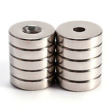 20mm dia x 5mm N50 round strong Neodymium disk magnets craft fridge