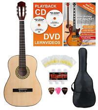 7/8 Linkshänder Akustikgitarre Kinder Anfänger Konzertgitarre Starter Set Lernen