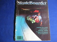 SKATEBOARDER MAGAZINE-SEPT 1978-STEVE CATHEY-SIGNAL HILL-HESTER PRO-VINTAGE
