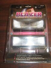 Vintage Blazer Aerodynamic Design Halogen Fog Driving Lights Slim 4x4 Off-Road