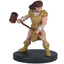 D&D miniatures 1x x1 Half-Orc Barbarian Monster Menagerie II NM