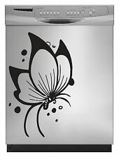 Butterfly 1 Decal Sticker for Dishwasher Refrigerator Washing Machine Stove Dorm