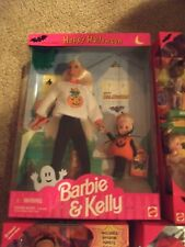 1996 Feliz Halloween Barbie Y KELLY Set de Regalo Edición Especial