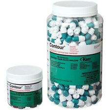 Kerr Contour Alloy Self-Activating Capsule - 500 caps. Fast Set 1 Spill