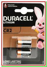 2 DURACELL CR2 Batterie Pile Lithium EL1CR2 CR17355 Photo Camera Foto