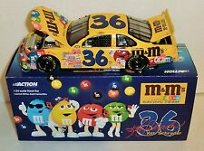 Ken Schrader #36 M&M's 2000 1/24 Action Grand Prix Stock Car. Damaged package