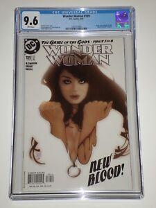Wonder Woman #189 (Apr 2003) CGC Graded 9.6 Adam Hughes Cover