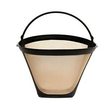 Gold Reusable#4 Cone Style Replacement  Coffee Filter for Cuisinart Coffee Maker