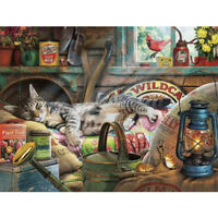 Casual Cat 1000 Piece Jigsaw Puzzle For Adults Kids Learning Education Game Gift