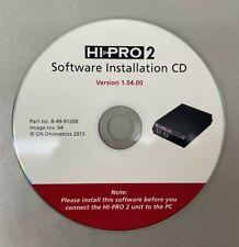 Hi Pro 2 Software Installation Cd V 10400 8 49 91200