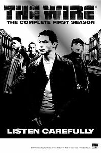 """Dominic West USA TV Series 24/""""x33/"""" Poster 007 The Wire"""