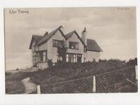 Llys Tanwg Llanfair Harlech Vintage Postcard 702a