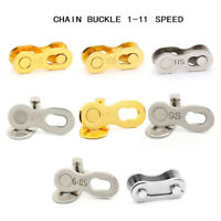 Buttons Speed Chain Lock Set Bike Joint Quick Master Link Bicycle Connector