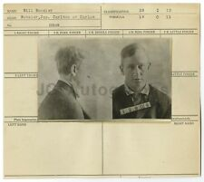 Wanted Notice - Bill Boosier / Burglary & Larceny - Arkansas 1929