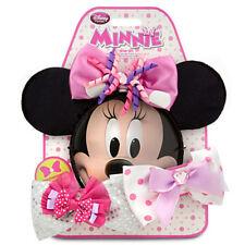 Disney Store Minnie Mouse 7 pc Costume Accessory Set Interchangeable Bow Set NIP