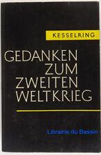 Gedanken zum zweiten weltkrieg Albert Kesselring 1955