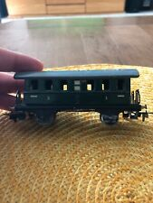 Vintage EARLY Marklin HO Scale Tin Green Passenger Car #327
