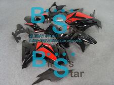 Black Injection Fairings Bodywork Kit Kawasaki Ninja 250R EX250 08-12 98 A3
