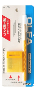 OLFA Limited Art Cutter Knife Blade 10B and Metal Tool 25 Blades XB10 From JAPAN
