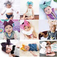 10Pcs Cute Kids Girl Baby Toddler Bow Headband Hair Band Accessories Headwear XN