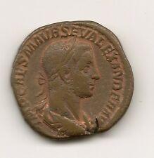 Emperador Alejandro Severo  UN SESTERCIO   NL091