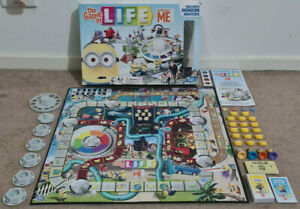 THE GAME OF LIFE DESPICABLE ME BOARD GAME HASBRO GAMING