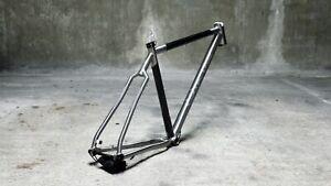 HandBuilt KING Titanium Carbon XC MTB Hardtail Bike Frame custom 27.5 plus 29er.