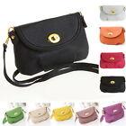 Women Tote PU Leather Crossbody Satchel Shoulder Handbag Purse Messenger Bag TS