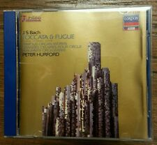 Bach: Toccata & Fugue / Peter Hurford by Peter Hurford (CD, London/Decca Jubi...