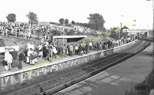 Shildon Railway Station Photo. Bishop Auckland to Heighington and Stockton. (10)