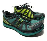Womens 8.5 B M Brooks PureGrit 2 Trail Running Shoes Green Gray Comfort Marathon