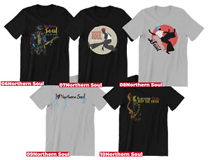 Northern soul Music T-shirts2