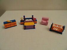 LEGO Simpsons House Homer Marge Bedroom Furniture Crib Dresser Chair  71006 NEW