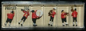 Preiser, Vintage, New in Boxes, HO scale, Tyrolean Band, Items 206, 207