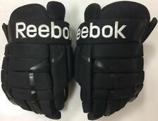 "Reebok HGPRO 4 Roll Pro Stock Hockey Gloves 15"" Black San Antonio Rampage"