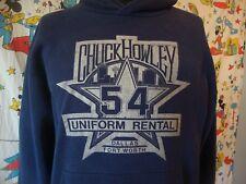 Vintage Chuck Howley uniforms of Dallas Cowboys Hoodie RARE Sweatshirt Sz XL