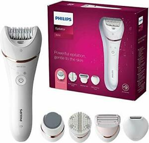 Philips Series 8000 Epilator, Wet and Dry Cordless Hair Removal and Skin Care