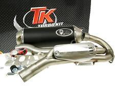 Auspuff Sport mit E Zeichen Turbo Kit Quad ATV für Yamaha YFM 700 Raptor