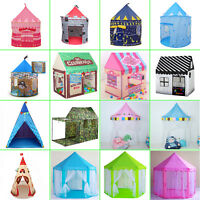 New Kids Children Developmental Teepee Play Tent Indoor Playhouse Toys Xmas Gift