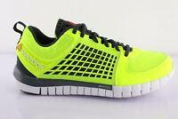 REEBOK ZQUICK Dash M43974 Laufschuhe Sportschuhe Trainers Fitness Schuhe Gelb