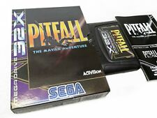 PITFALL Sega 32x megadrive PAL version COMPLETE & Like NEW - ACTIVISION -