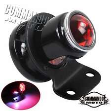 LED Tail Light Lucas-Style For Cafe Racer Bobber Chopper Harley Custom Black New