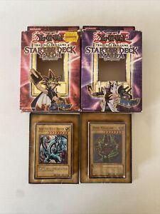 Yu-GI-Oh! - Yugi & Kaiba Evolution Starter Decks - Complete with Boxes