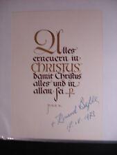 Pius X 20th Century Unsigned Document - Bible